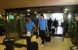 Após 12h de viagem, Grêmio chega à concentração para estreia no México (Eduardo Moura/GloboEsporte.com)
