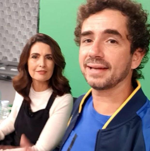 Fátima Bernardes e Felipe Andreoli (Foto: Reprodução/Instagram)