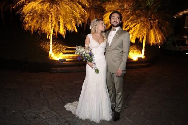 Louise D Tuani e Eduardo Sterblitch (Foto: Isac Luz / EGO)