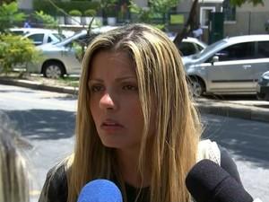 Juiz ouve agressor e vítima de cotovelada durante audiência (Foto: Reprodução/TV TEM)