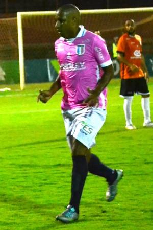 Rodrigo César no primeiro jogo da final da Copa ES (Foto: João Brito/Espírito Santo FC)