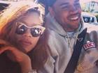Chris Brown sobre Rihanna à TV: 'Estamos apenas nos divertindo'