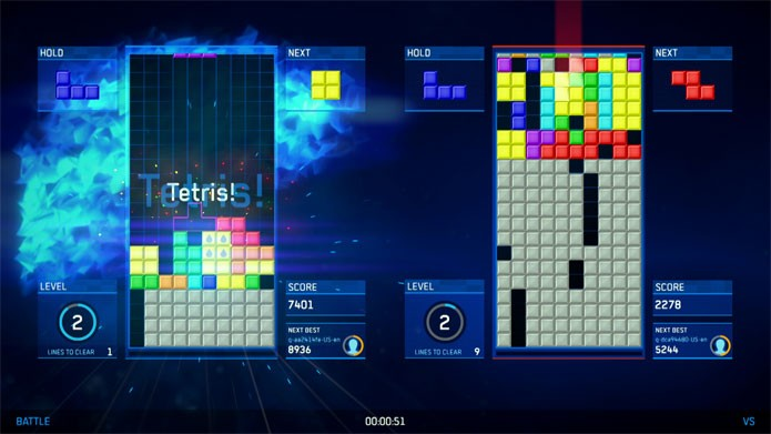Tetris Ultimate desembarca no PS Vita (Foto: Divulgação)