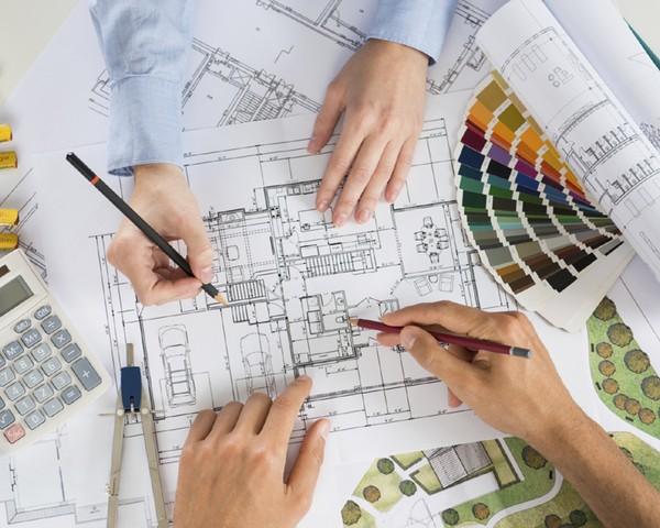 arquiteto; planta baixa (Foto: ThinkStock)