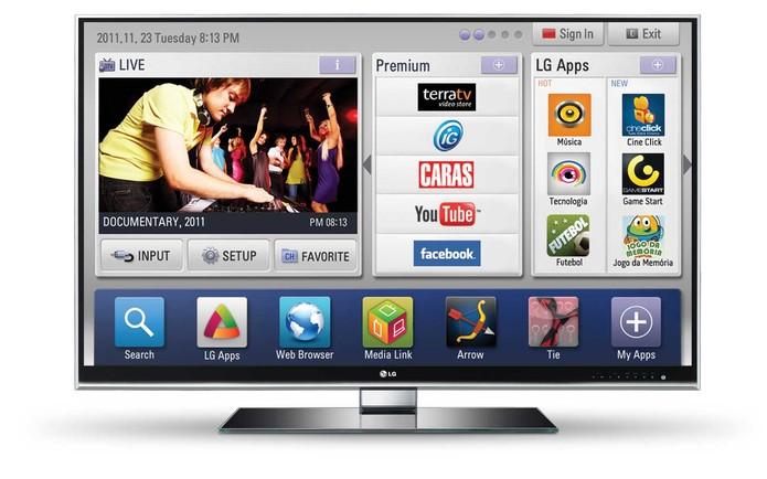 a53740e70 Aprenda a explorar a Internet com a sua Smart TV da LG (Foto  Divulgação