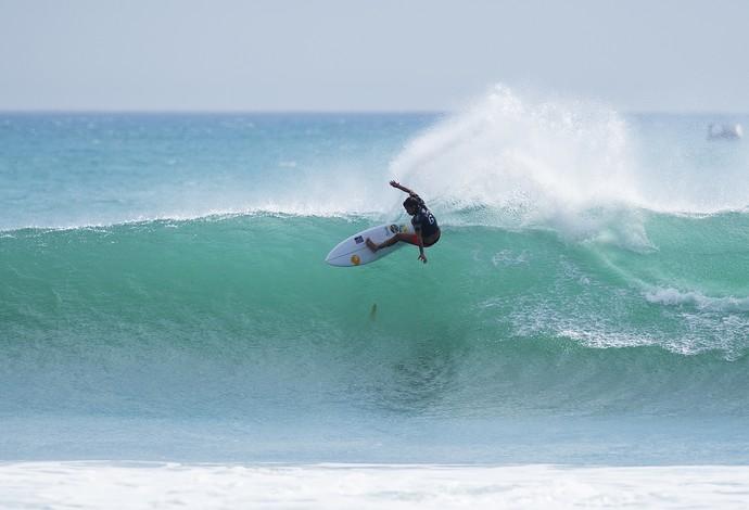 Silvana Lima primeiro round mundial de surfe etapa trestles (Foto: WSL/Kirstin)