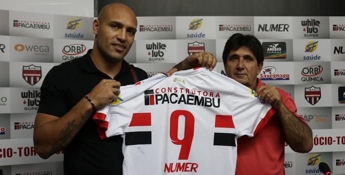 Edno Botafogo-SP (Foto: Rogério Moroti / Agência Botafogo)