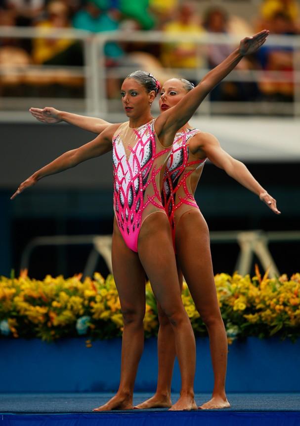 Linda Cerruti e Costanza Ferro da Itália (Foto: Getty Images/Adam Pretty)