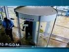 Polícia analisa imagens da câmera de agência assaltada em MS; veja vídeo