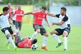 Sob olhar de Argel, reservas do Inter empatam jogo-treino com o Danúbio