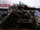 Ocupante de ambulância envolvida em acidente morre após ser socorrido
