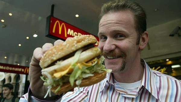 Morgan Spurlock — 'Super Size Me: A Dieta do Palhaço' (2004) (Foto: Divulgação)