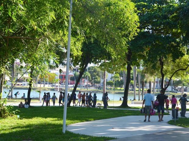 Novo Parque da Lagoa foi inaugurado no dia 12 de junho (Foto: André Resende/G1)