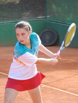 Bruna Gonçalves, atleta que do Filadélfia que disputará a categoria 17/23 anos. (Foto: Maria Júlia Mendes)