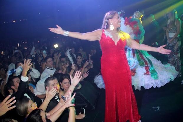 Susana Vieira em apresentação da Grande Rio (Foto: Rodrigo dos Anjos/AG News)