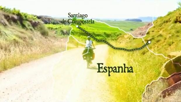 Trio encarou os 800 km do Caminho de Santiago com muito esporte (Foto: Reprodução)