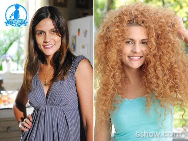 aula Barbosa em 2009, e agora, em 2014 (Foto: João Miguel Júnior/TV Globo; Felipe Monteiro/TV Globo)