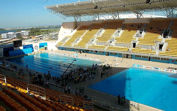 Parque aquático Maria Lenk (Foto: Globoesporte.com)