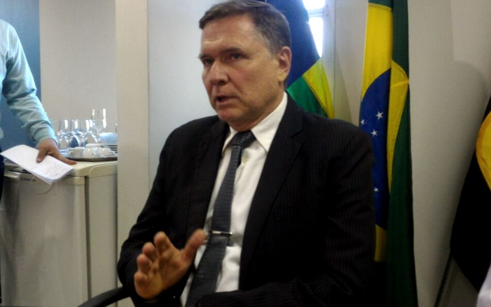 Victor Dragalzew, superintendente de administração  penitenciária em Goiás (Foto: Vanessa Martins/ G1)