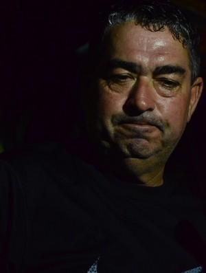 Domício Leite, técnico e presidente do Lucena (Foto: Juliana Bandeira / GloboEsporte.com/pb)