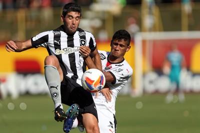 Navarro - Vitória x Botafogo (Foto: Felipe Oliveira / Agif / Estadão Conteúdo)