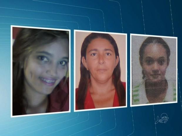 Três pessoas morreram na chacina de Horizonte (Foto: TV Verdes Mares/Reprodução)