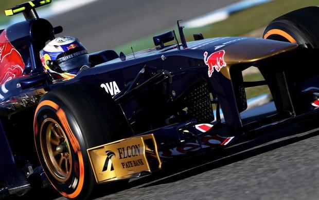 Daniel Ricciardo STR testes Jerez de la frontera (Foto: Agência Getty Images)