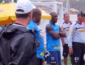 Seedorf, Botafogo (Foto: Thales Soares / Globoesporte.com)