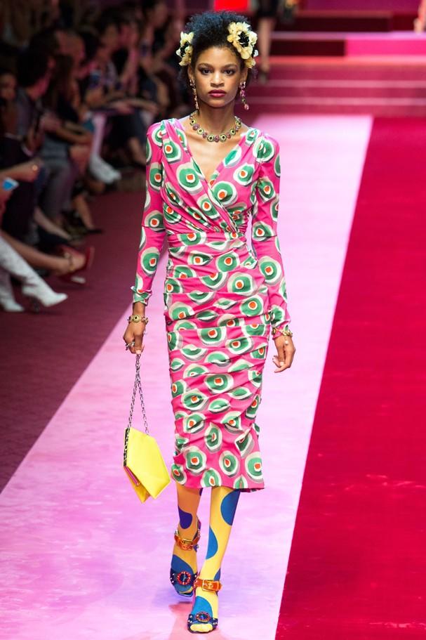 Dolce & Gabbana verão 2018 (Foto: Imaxtree)