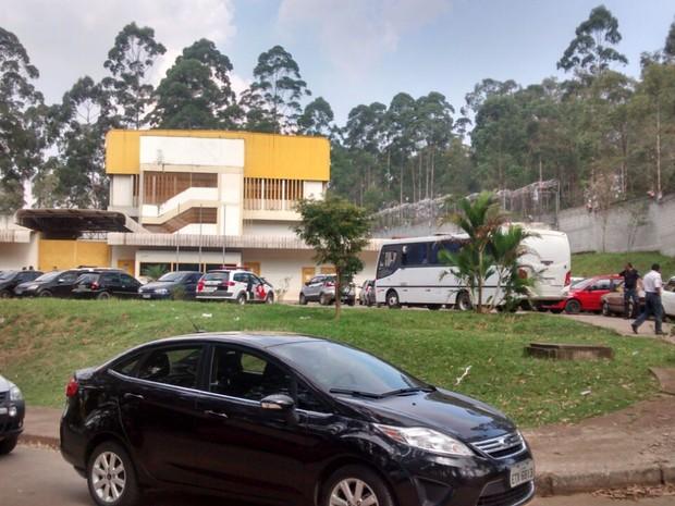Rebelião foi controlada em uma das unidades de Itaquaquecetuba (Foto: Jamile Santana/G1)
