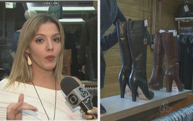 Especialista falou sobre a os looks que podem ser usados durante a Expoacre. (Foto: Acre TV)