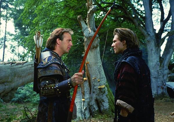 Kevin Costner como Robin Hood em 'Robin Hood: O Príncipe dos Ladrões' (1991) (Foto: Divulgação)