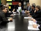 Prefeitos de cidades do RS atingidas por temporal se reúnem com ministro