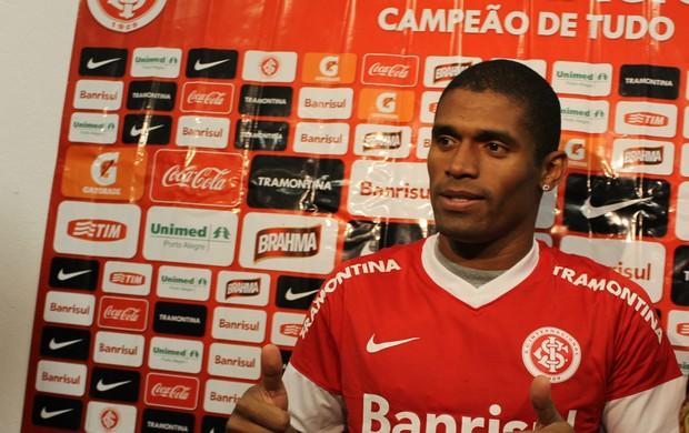 Ygor, novo reforço do Inter (Foto: Diego Guichard/GLOBOESPORTE.COM)