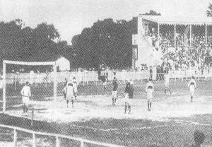 Maguary x Ceará no Torneio Inicio de 1927 no Campo do Prado (Foto: Arquivo Nirez Filho)