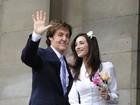 Paul McCartney se casa em Londres pela terceira vez