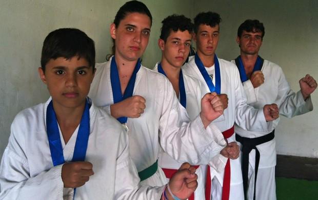 Atletas de Uberaba conquistam medalhas em campeonato de Taekwondo, no Rio de Janeiro (Foto: Luiz Vieira / GLOBOESPORTE.COM)