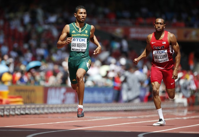 Wayde van Niekerk África do Sul 400m Mundial (Foto: Reuters)