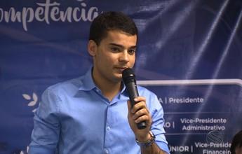"""""""Por amor ao Confiança"""" oficializa a candidatura do jovem Hyago França"""