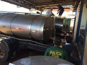 MP gaúcho auxilia em operação contra a fraude em SC (Foto: MP-RS/Divulgação)