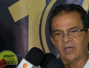 Francisco Diá, Campinense (Foto: Silas Batista / GloboEsporte.com)