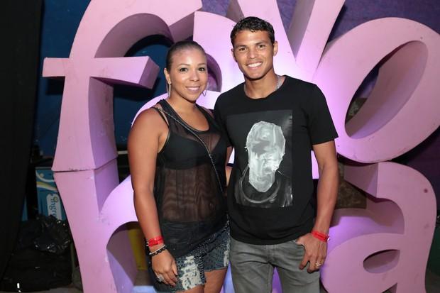 Isabele e Thiago Silva (Foto: Reginaldo Teixeira/Divulgação)