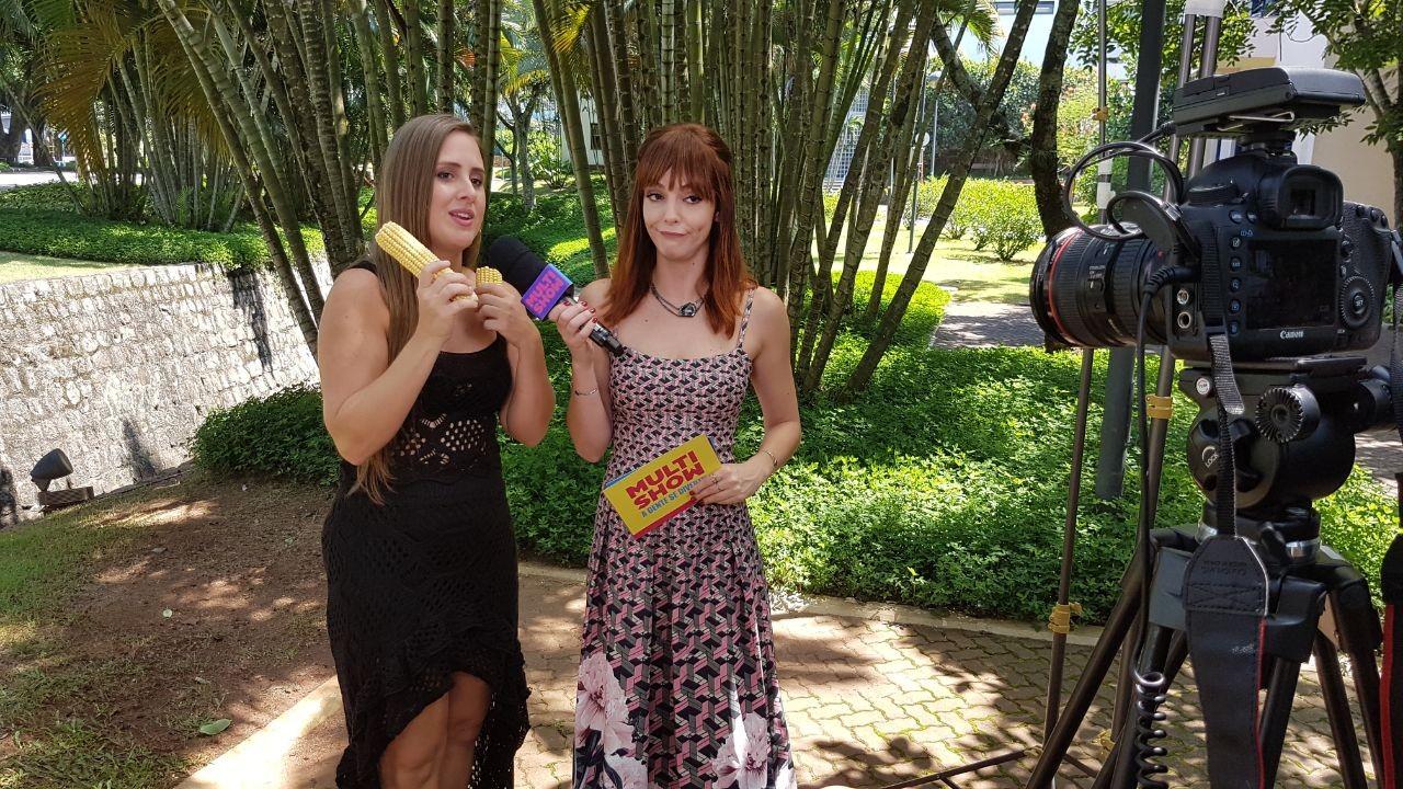 Nesta quinta, Patrcia participa do Big Quiz Brasil, no canal Humor Multishow, em busca do prmio de 'um milho e meio' (Foto: Multishow)