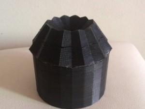 Protótipo em 3D de filtro que funciona com energia do sol