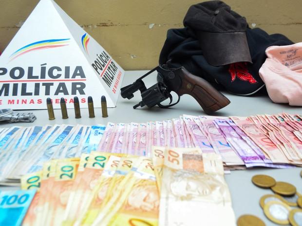 Assalto Posto de combustíveis araxá (Foto: Willian Tardelli/Divulgação)