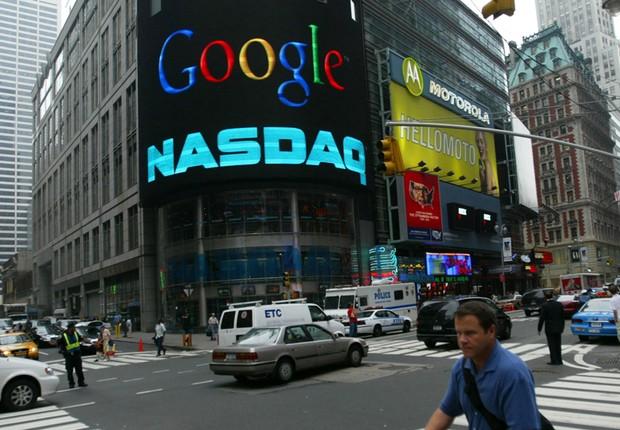 Google Nasdaq (Foto: Getty Images)
