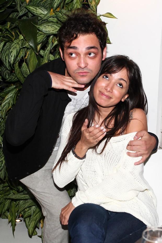 Anitta e Eduardo Sterblitch (Foto: Manuela Scarpa / Foto Rio News)