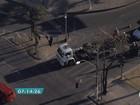 BH - 7h20: Caminhão com problemas mecânicos prejudica o trânsito