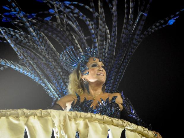 A atriz Susana Vieira é um dos destaques da Acadêmicos do Grande Rio (Foto: G1/Alexandre Durão)