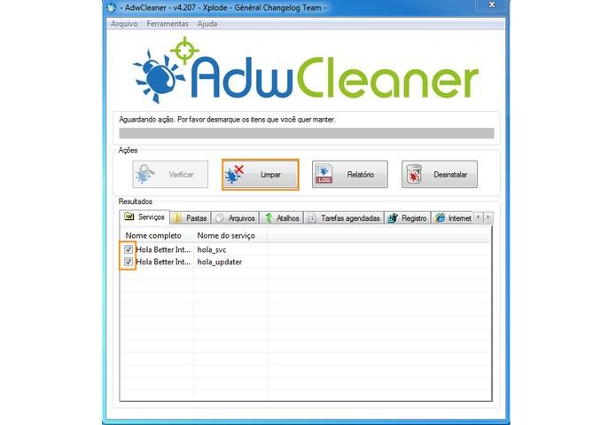 Limpe os Adwares que encontrar caso necessário (Foto: Reprodução/Barbara Mannara)